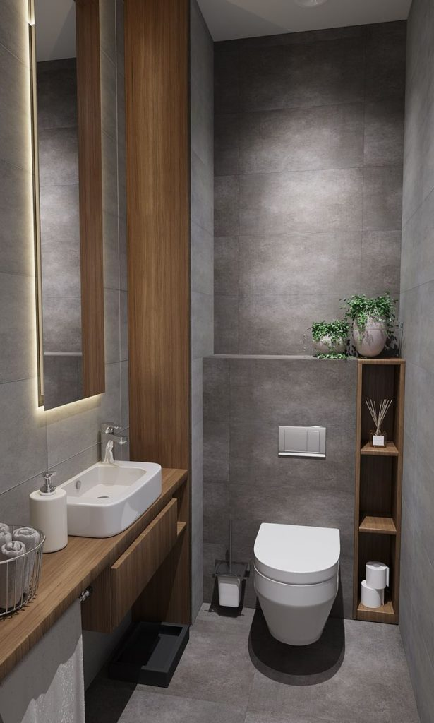 bathroom tiling {Locations}